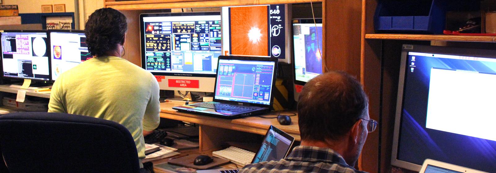 data room of the hale telescope palomarcaltech caltech recreation room